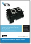 Denison Hydraulics T6DR & T6DRY Single Vane Pump | Datasheet