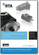 Denison Hydraulics T7D & T7DS Single Vane Pump | Datasheet